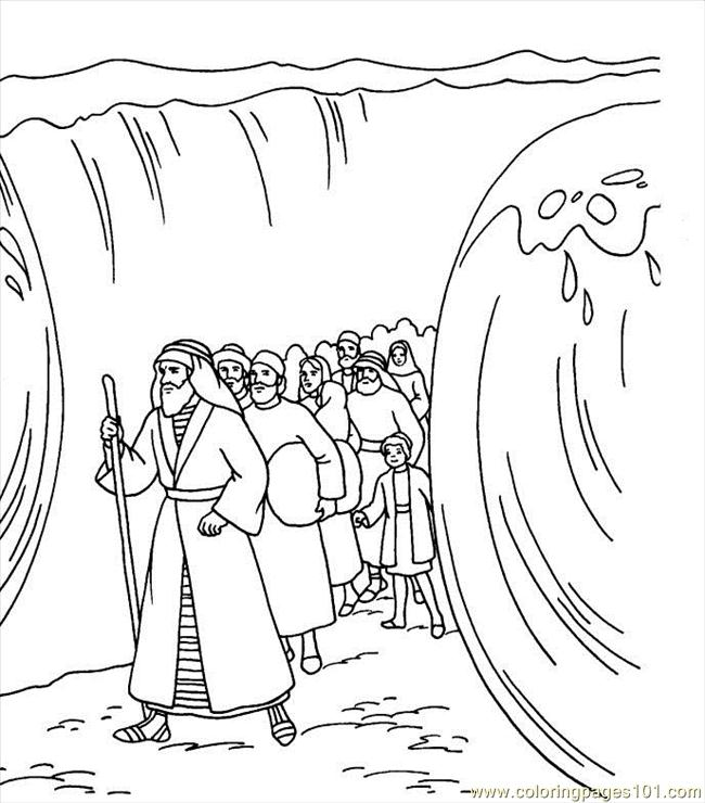 moses coloring pages free - photo#8