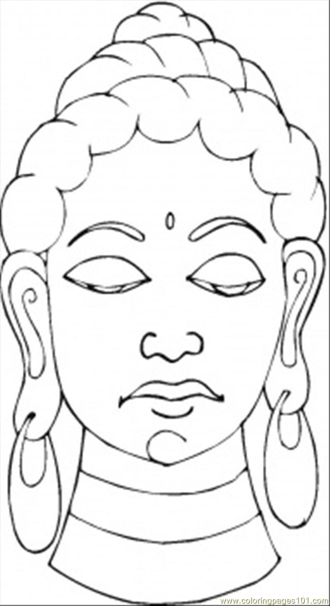 fat buddah coloring pages - photo#8