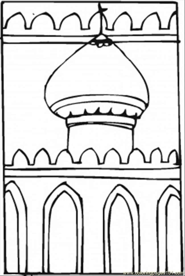 Islamic Coloring Pages Pdf : Coloring pages islam other gt religions free printable