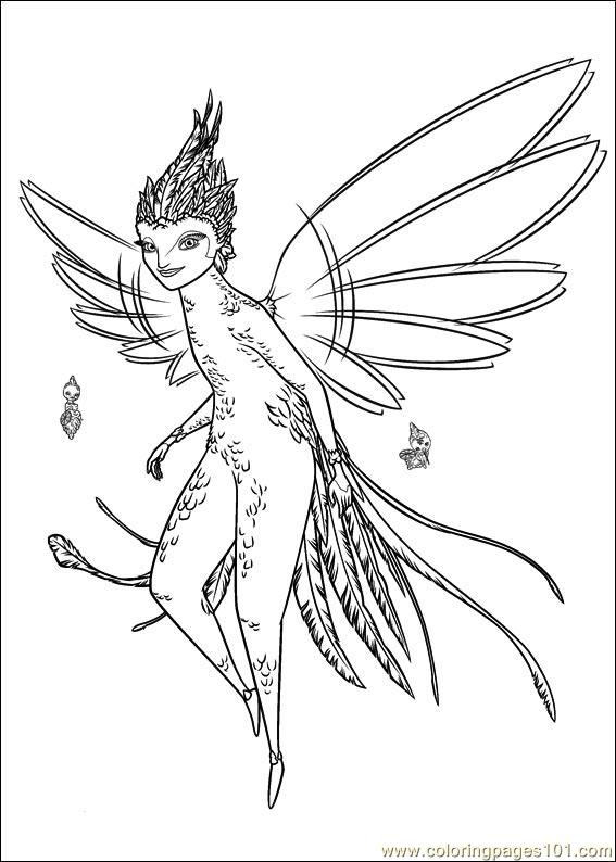 free rise of the guardians coloring pages