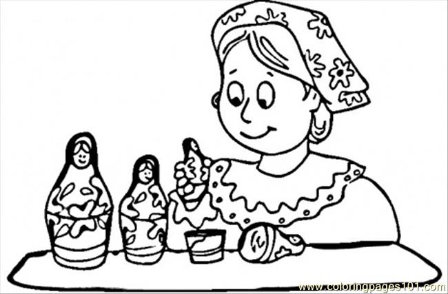 coloring pages of russia - photo#34
