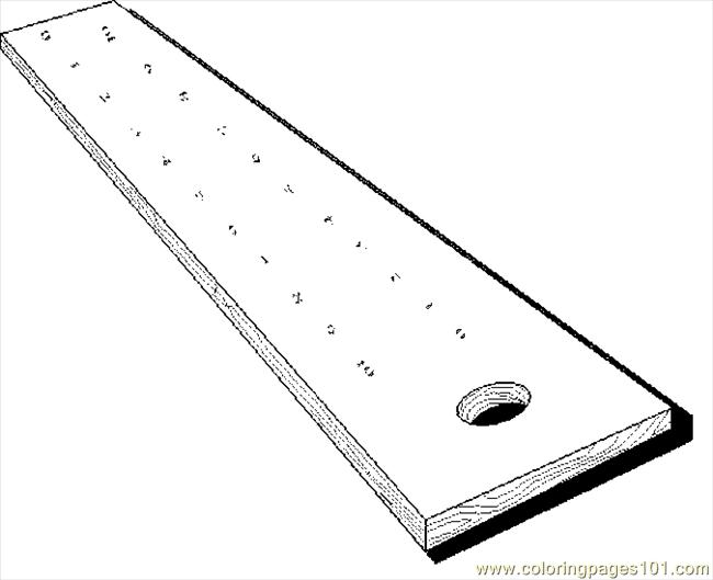 coloring pages ruler - photo#17