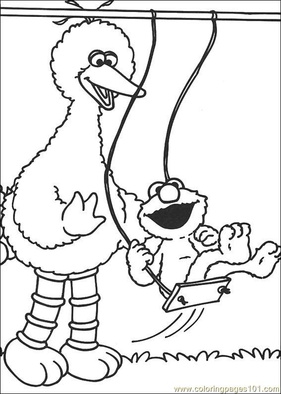 coloring pages sesame street 20 cartoons sesame street free printable coloring page online