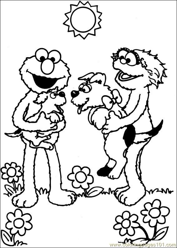 Coloring Pages Sesame Street 37 Cartoons gt Sesame Street