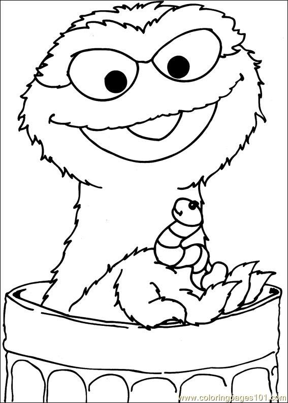Coloring Pages Sesame Street 38