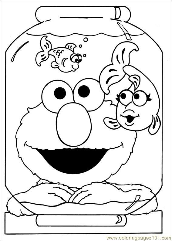 coloring pages sesame street 39 cartoons sesame street free printable coloring page online