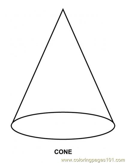 Free coloring pages of cone