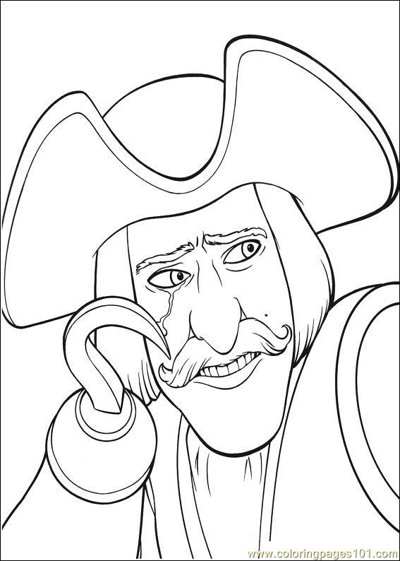 shrek 3 coloring pages - photo#21