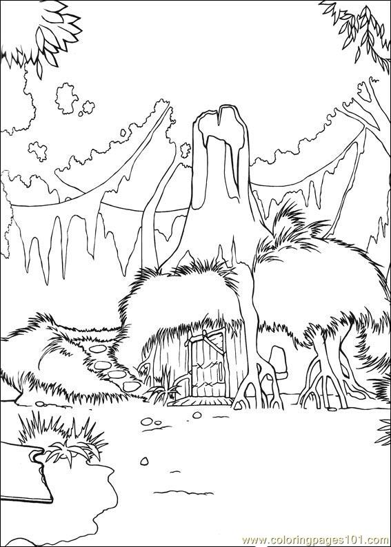 shrek 3 coloring pages - photo#40