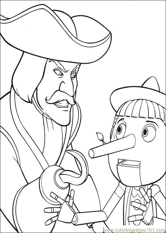 Shrek the Third coloring picture | 794x567