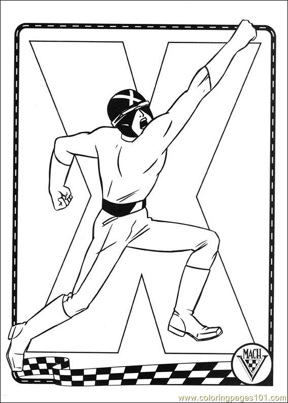 Or speed colouring pages for Speed racer coloring pages