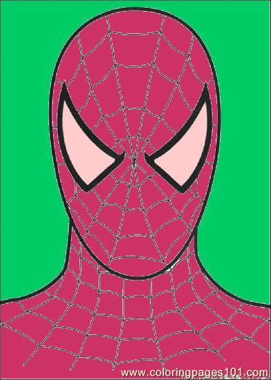 Spiderman Head Image