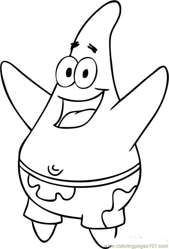 Spongebob squarepants free colouring pages for Spongebob squarepants coloring page