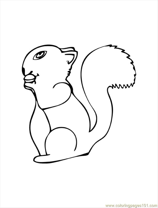 coloring pages woodlandcreatures3colorpage mammals squirrel free printable coloring page