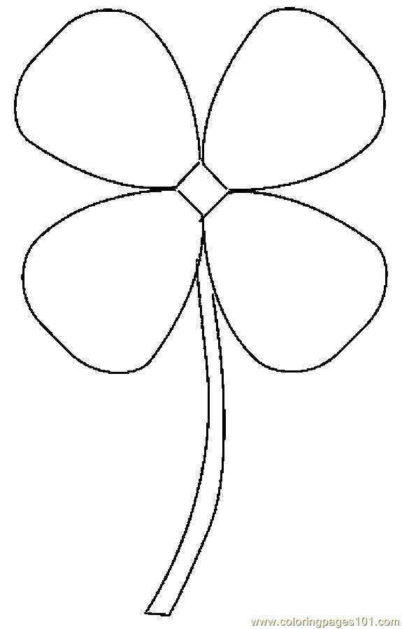 4 H Clover Coloring Sheet : Clover Coloring Page http://printablecolouringpages.co.uk/?s=4 H ...
