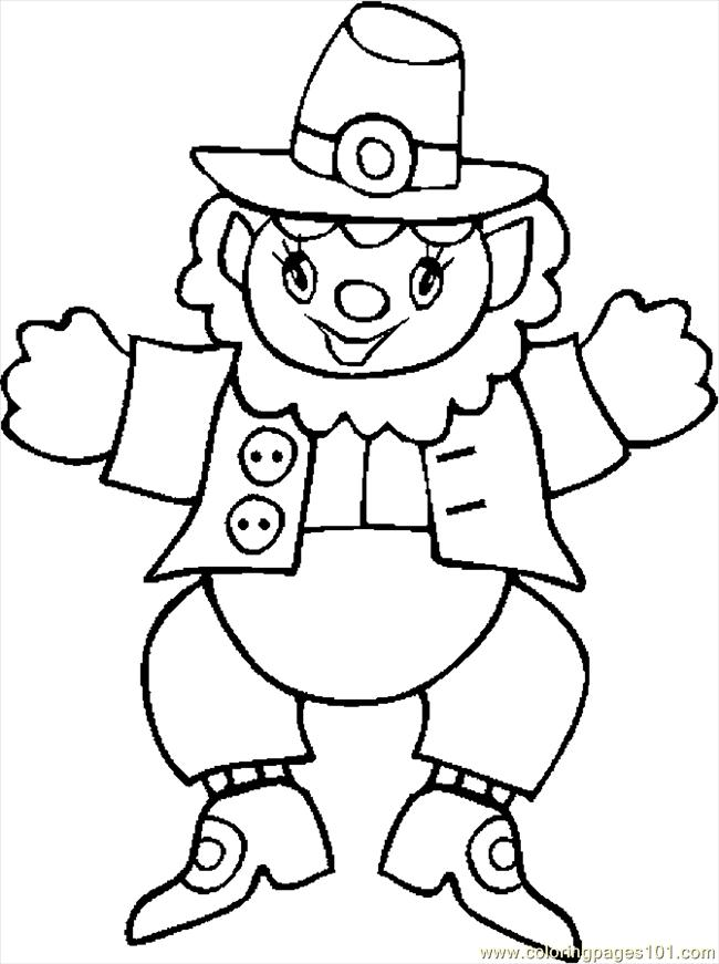 Coloring Pages Leprechaun 17 Holidays gt St Patrick 39 s Day