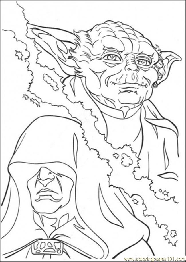 Free printable coloring page master yoda 3 cartoons gt star wars