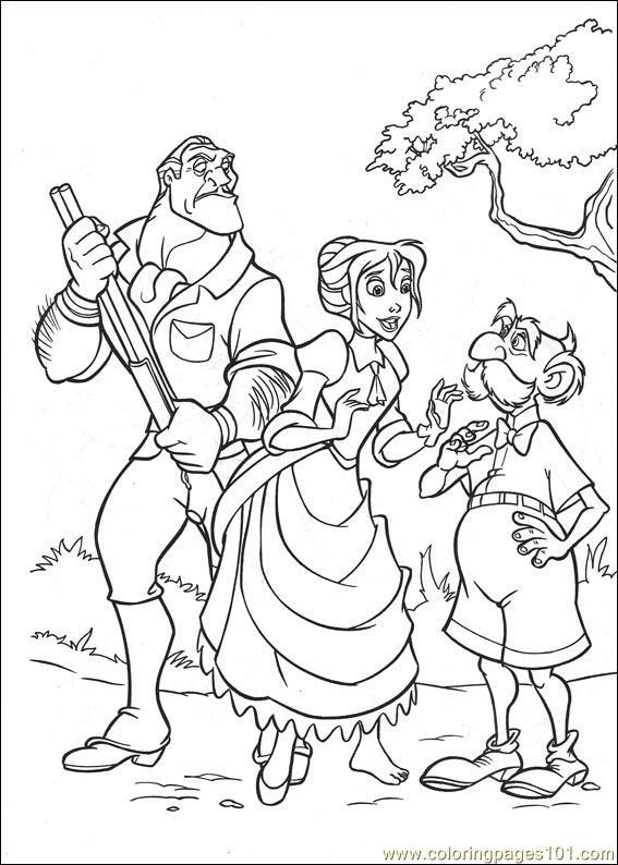 coloring pages tarzan 81 cartoons  tarzan  free
