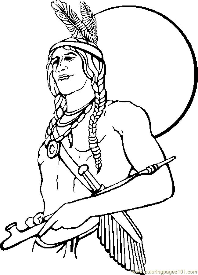 Coloring Pages Native American 1 Holidays Gt Thanksgiving Iroquois Coloring Pages