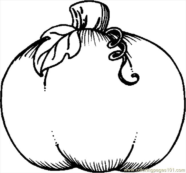 Coloring Pages Pumpkin 05 (Holidays > Thanksgiving Day ...