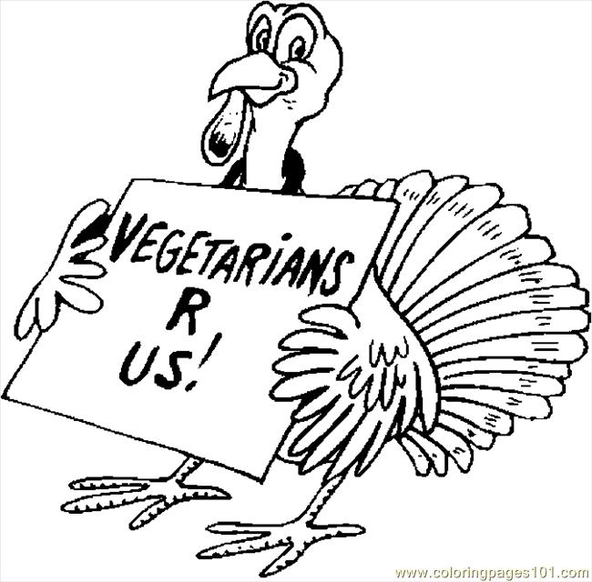 thanksgiving funny coloring pages - photo#17