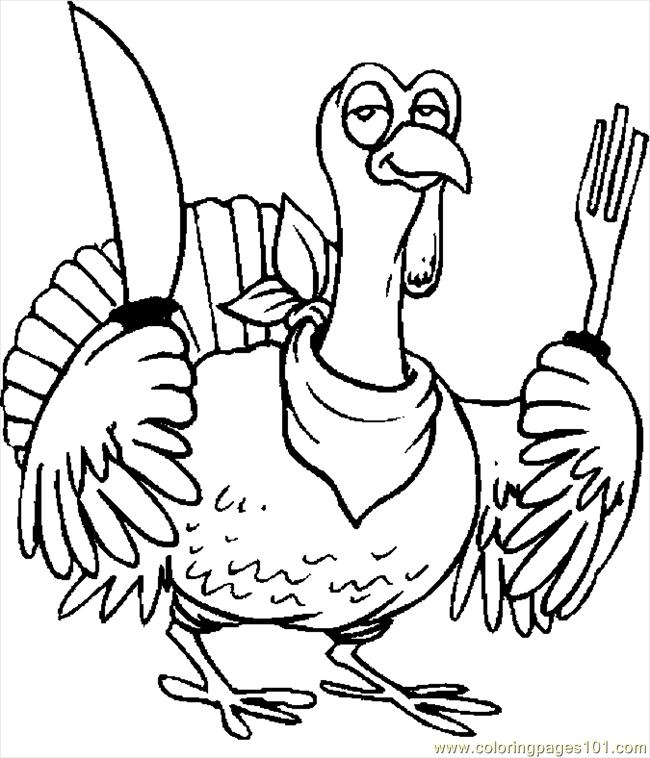 turkey day coloring pages - photo#36
