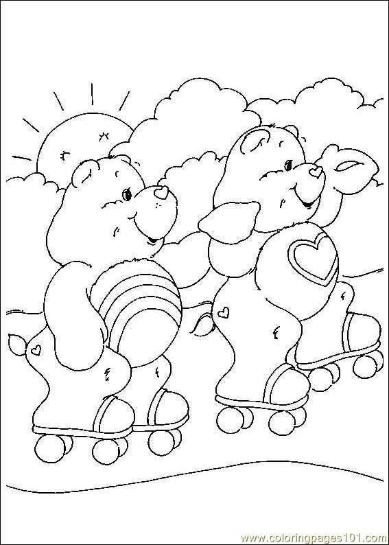 care bears coloring pages oopsy - photo#46