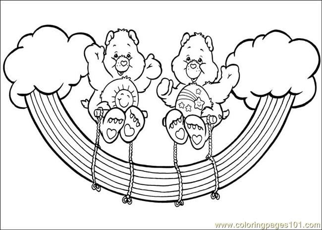 carebear cousin coloring pages - photo#34