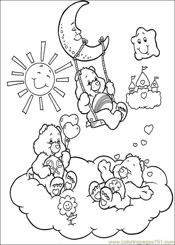 the care bears coloring pages - photo#17