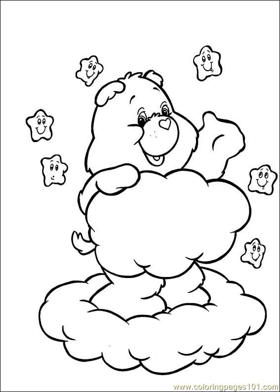 the care bears coloring pages - photo#14