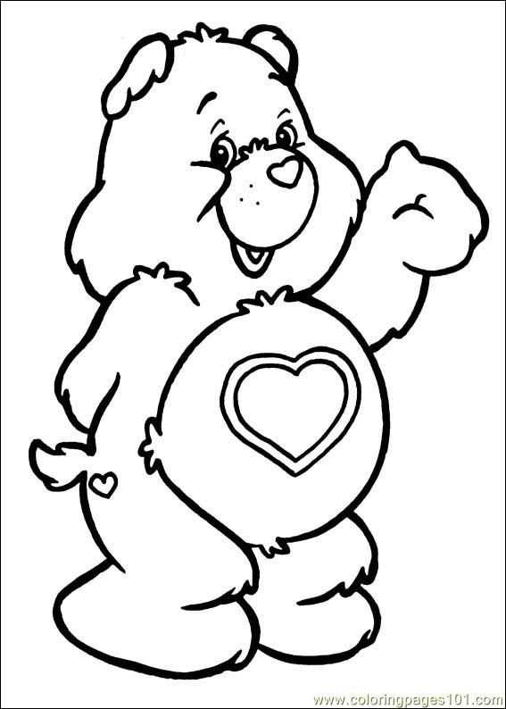 Coloring Pages Care Bears 59 Cartoons