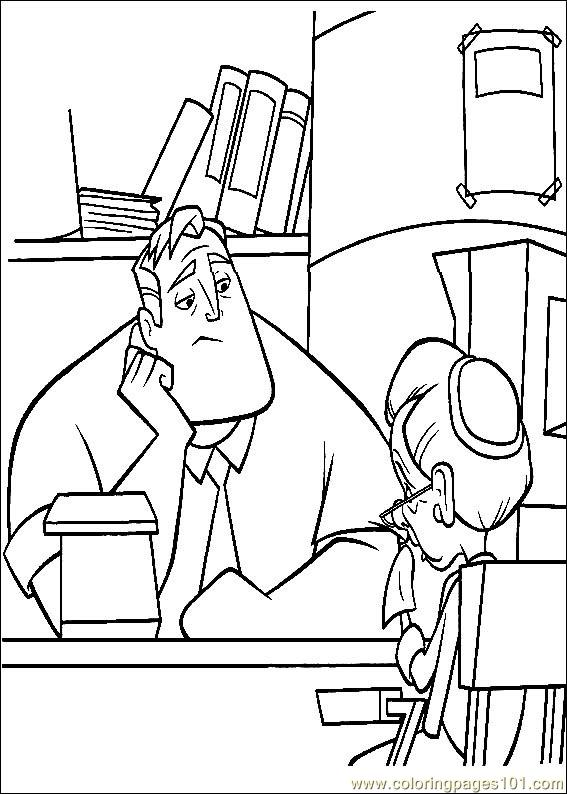 Coloring Pages The Incredibles 29 Cartoons Gt The