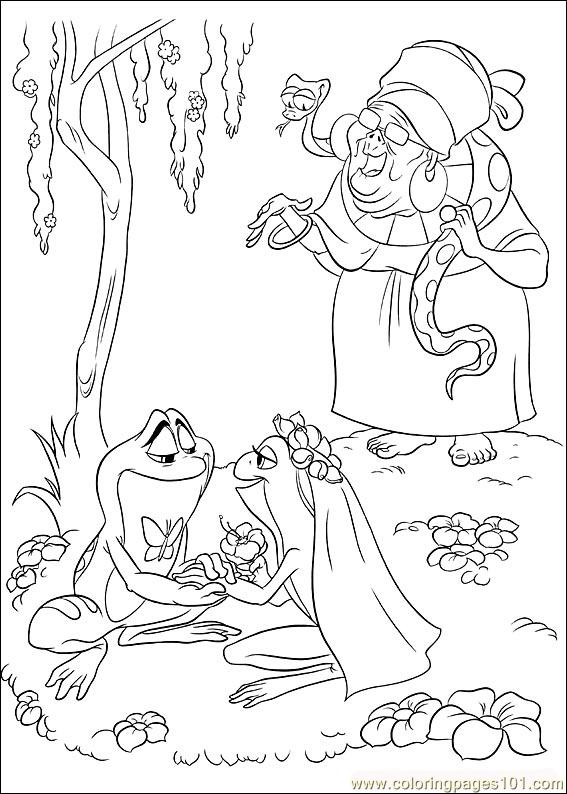 Coloring Pages Princess Frog 58 Cartoons Gt The Princess From The Princess And The Frog Free Coloring Sheets