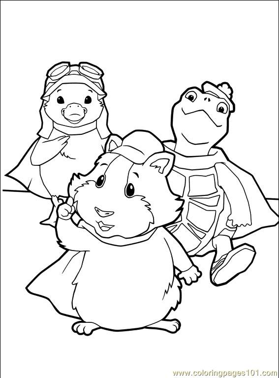 wonder pets free coloring pages - photo#2