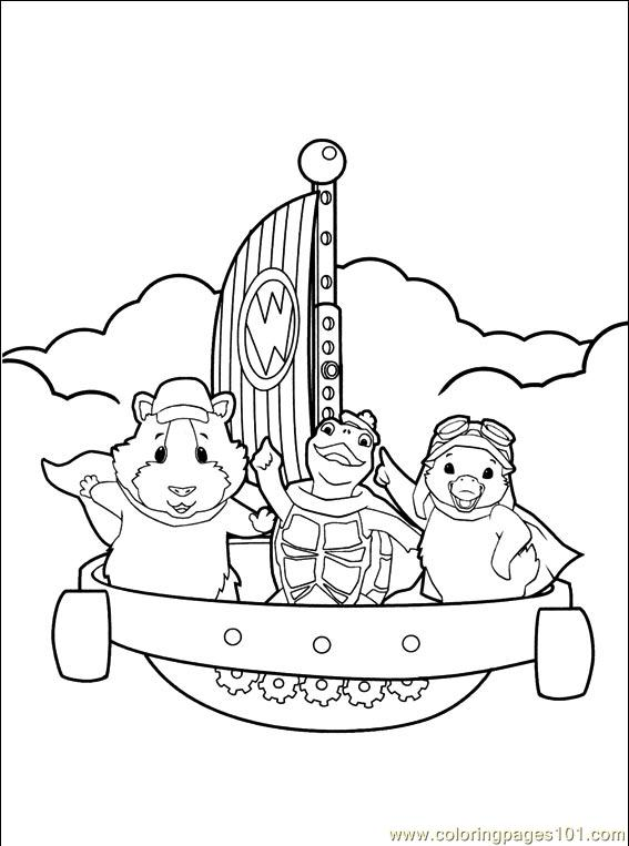wonder pets free coloring pages - photo#15