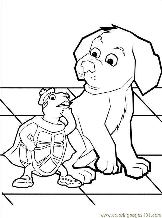 wonder pets free coloring pages - photo#17
