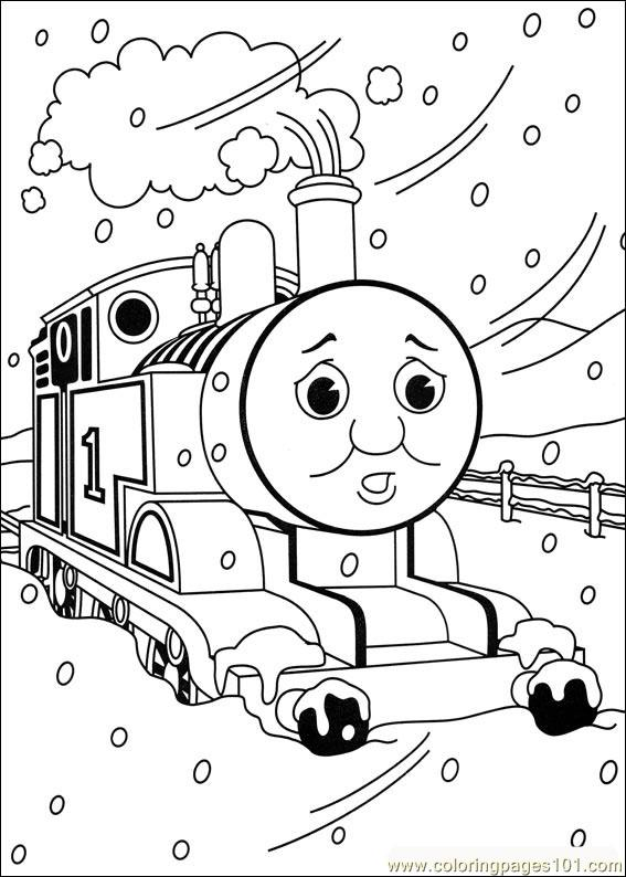 free printable coloring image Thomas And Friends 05