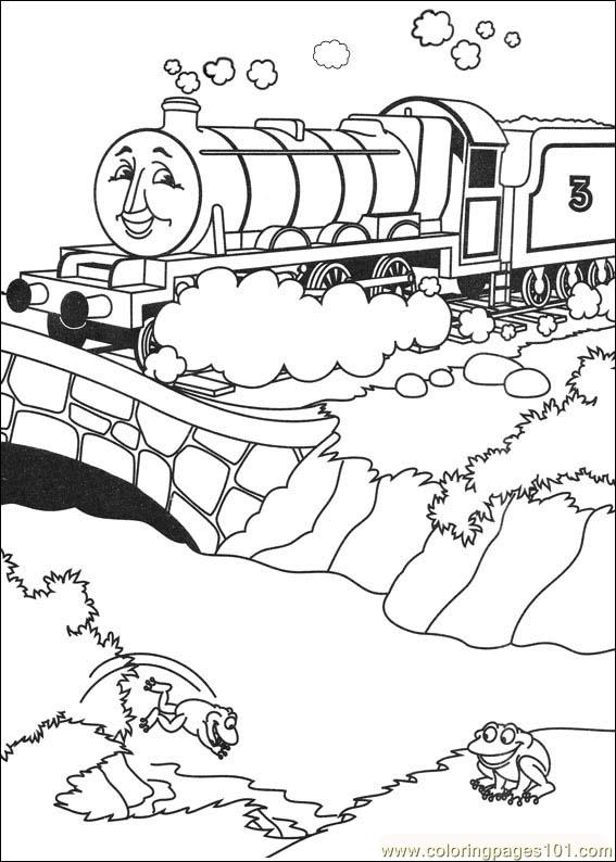 coloring pages thomas and friends 18 cartoons thomas friends free printable coloring page