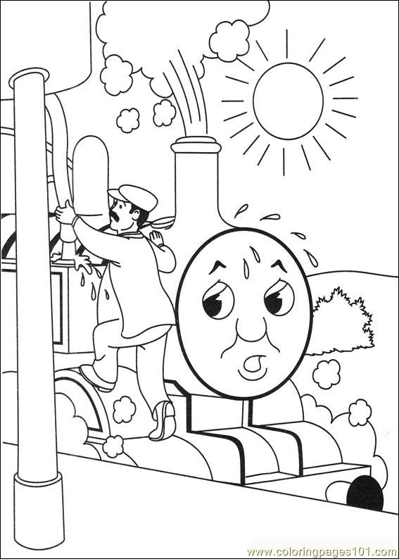 emily train coloring pages - photo#27