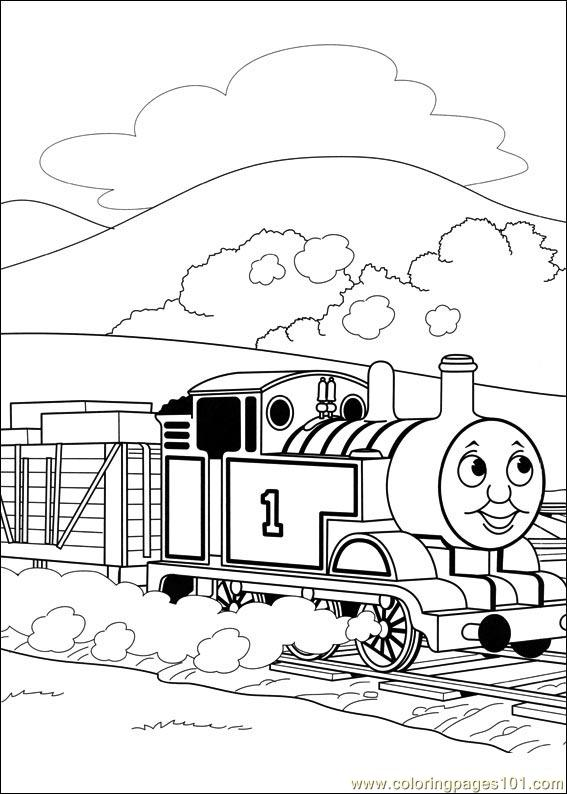 coloring pages thomas and friends 44 cartoons thomas friends free printable coloring page