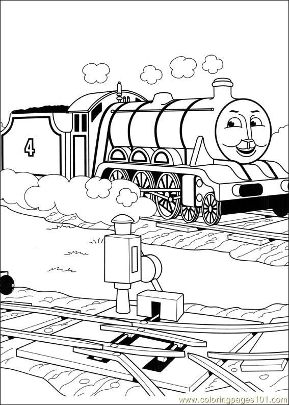 coloring pages thomas and friends 54 cartoons thomas friends free printable coloring page