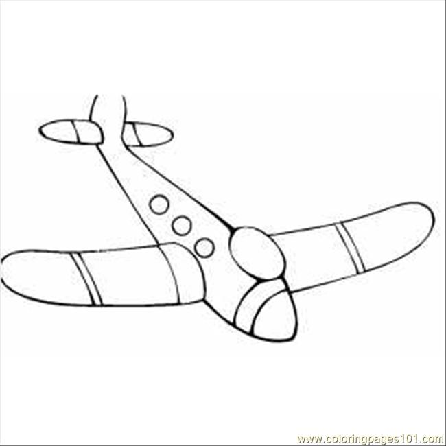 airplane printable coloring pages