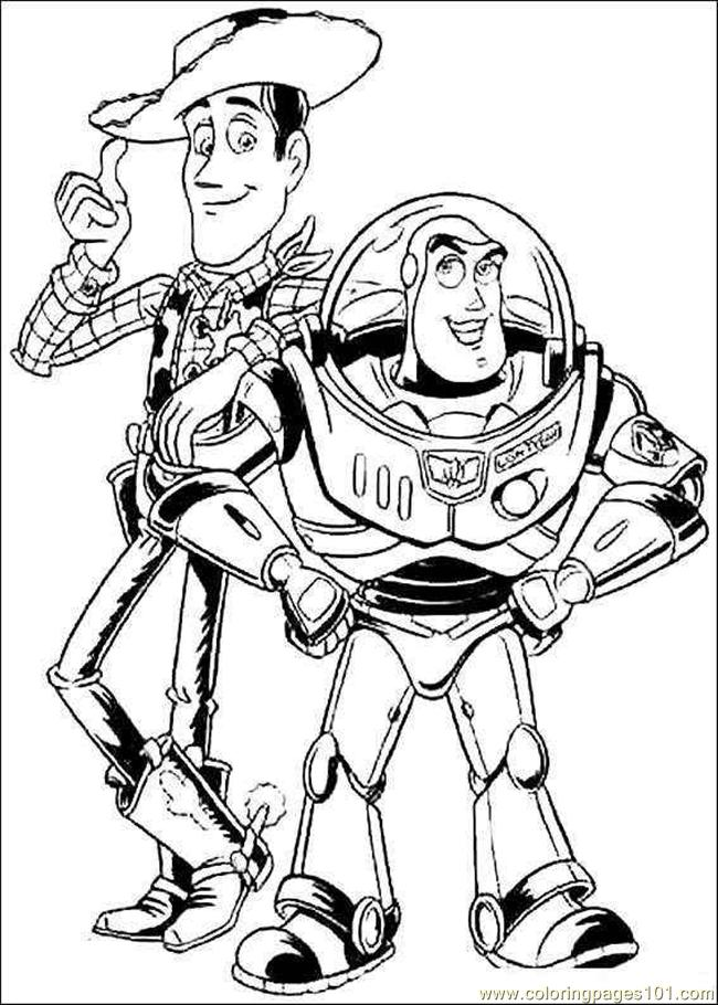 FREE TOY STORY COLORING PAGES Free Coloring Pages