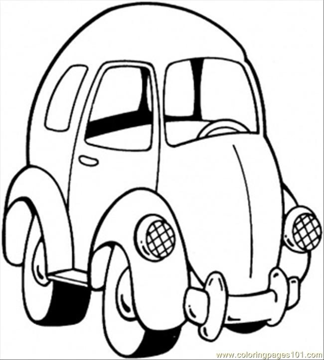 toy car coloring pages - photo#7