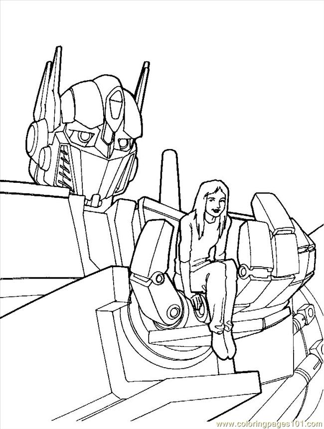 Coloring Pages Transformers 03 Cartoons Gt Transformers