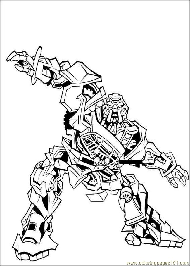 Coloring Pages Transformers Coloring Page 16 Cartoons