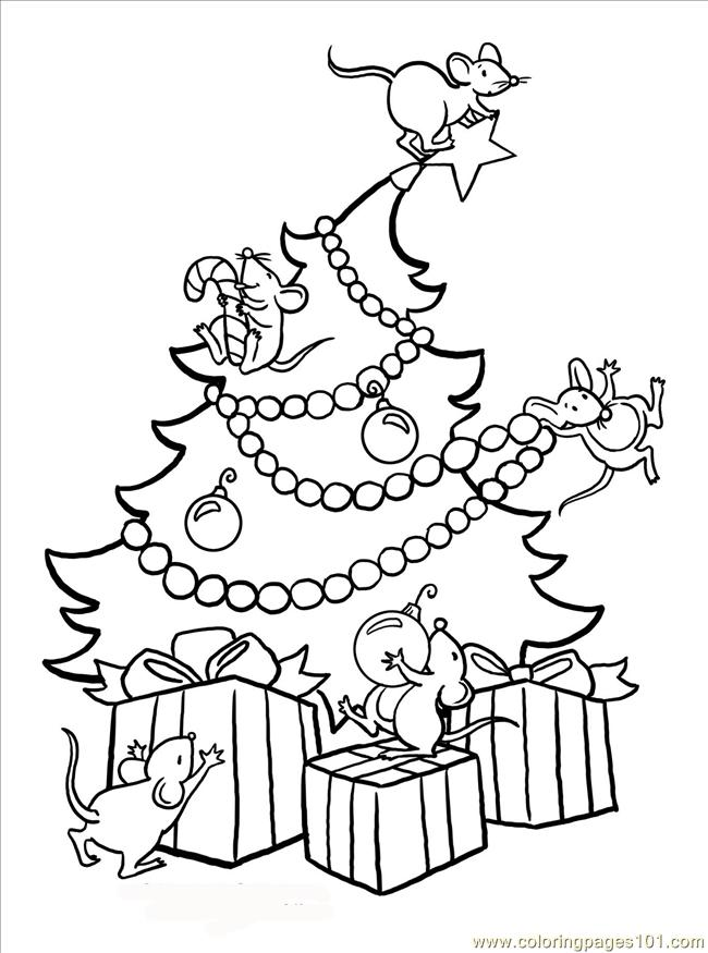 Big Tree Coloring Pages Large Tree Coloring Page