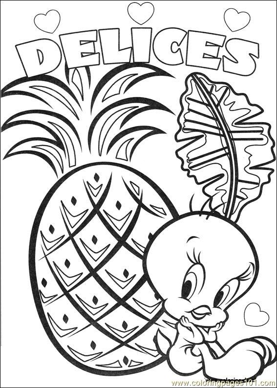 tweety bird printable coloring pages - photo#37