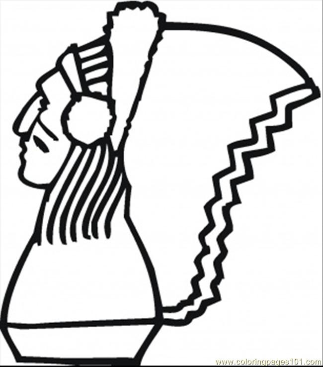 Native American Coloring Pages Print http://www.coloringpages101.com/printable_page/9817/USA/Native_American.aspx