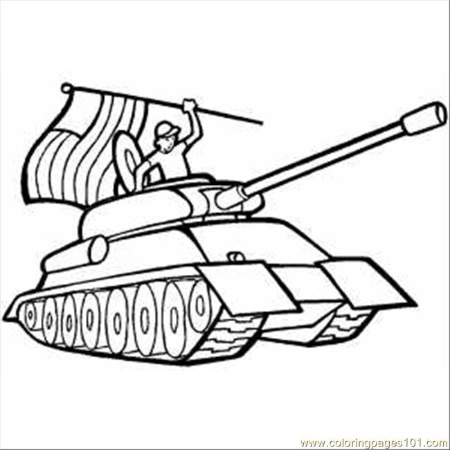Free Coloring Pages Of American Wwii Tank Tank Colouring Pages